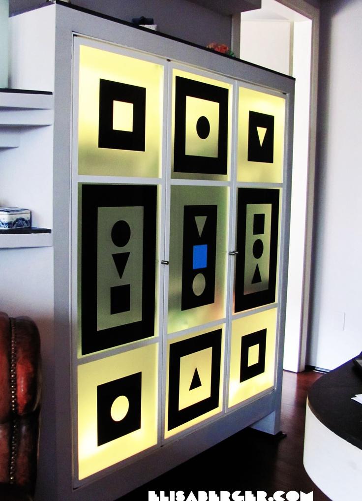 Armadio realizzato per Paola Wonder Paganelli  Designer Elisa Berger  Giugno 2012