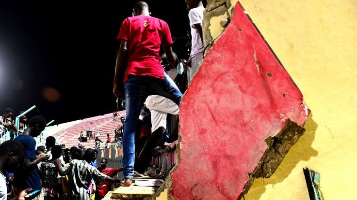 Senegal Demba Diop: Football stadium collapse kills eight https://tmbw.news/senegal-demba-diop-football-stadium-collapse-kills-eight  Media playback is unsupported on your deviceA wall collapsed at a football stadium in Senegal on Saturday, killing eight people and injuring almost 90.It fell in after fighting began between rival fans and police responded with tear gas, with a stampede ensuing.Stade de Mbour were playing Union Sportive Ouakam at the Demba Diop stadium in the capital Dakar.The…