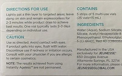 Share to show your support!Jeunesse Global presents Instantly Ageless and Luminesce with before and after pictures showing how stem cells repair the bags under your eyes and repairs wrinkles in under 2 minutes! Search for your reviews and tips!   http://jehty.jeunesseglobal.com/products.aspx?p=INSTANTLY_AGELESS