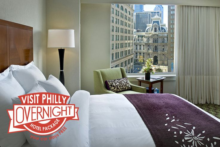 The Visit Philly Overnight Hotel Package: Book the two-night package and your car stays FREE