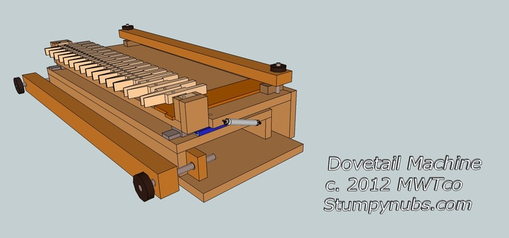 Router Dovetail Jig Plans - WoodWorking Projects & Plans