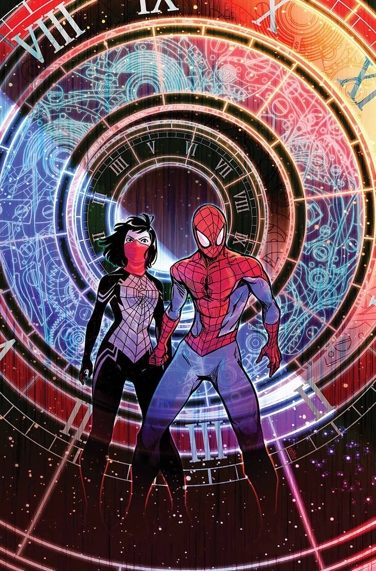 Spider-Man & Silk: The Spider(Fly) Effect #2 by Stacey Lee *