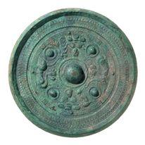 Sankakuen Shinjukyo 三角縁神獣鏡 Kofun Period Kyoto National Museum