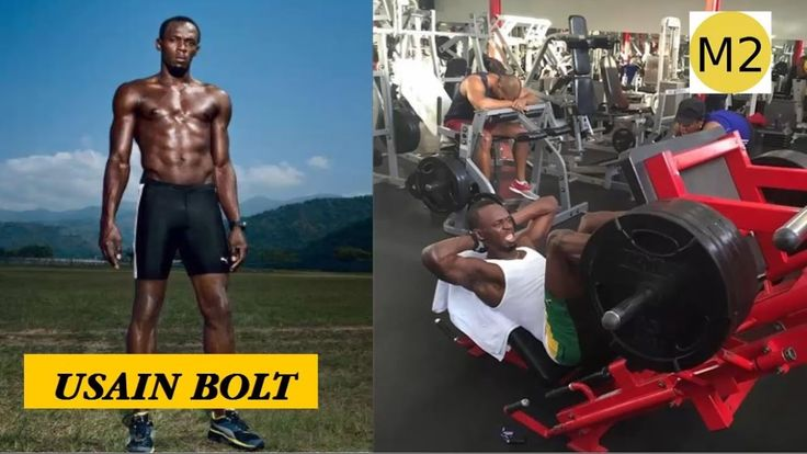 Usain Bolt Training | Strength and Speed Workout Techniques | Motivation...