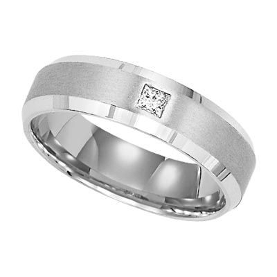 Men's diamond ring, about $1,095 for .05ct