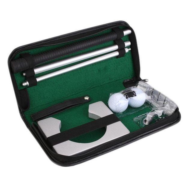 Al aire libre de entrenamiento de Golf pelota de golf indoor Kit Conjunto de Entrenamiento de Golf Tranning Bola Putter titular poner práctica Sida