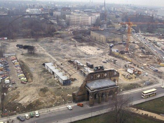 Берлин, Анхальтер Bahnhof, сегодня