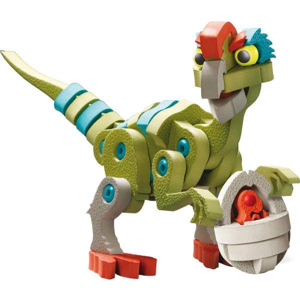 Dinosaures Bloco dinosaurus et oviraptor Kanai Kids : <p>Avec Bloco dinosaurus oviraptor vous allez pouvoir vivre votre passion à fond et <strong>construire un dinosaure et son oeuf</strong>. Ce je...King Jouet, retrouvez tout l'univers, Maquettes & Modelisme - Jeux de construction