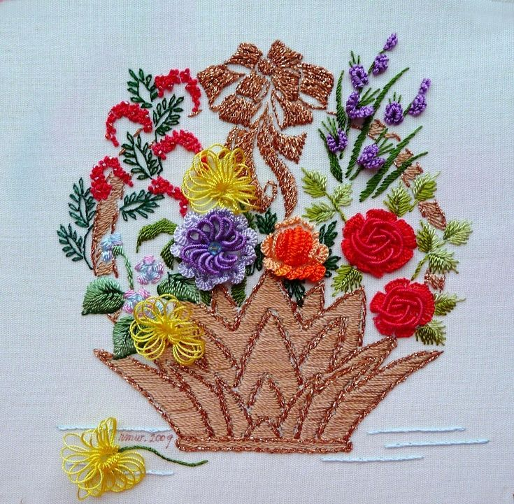 Best images about embroidery baskets on pinterest