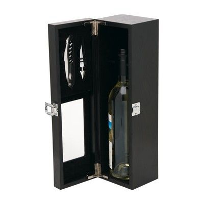 Timber Wine Case Min 25 - Corporate Gifts - Kitchenware - IC-D2321 - Best Value Promotional items including Promotional Merchandise, Printed T shirts, Promotional Mugs, Promotional Clothing and Corporate Gifts from PROMOSXCHAGE - Melbourne, Sydney, Brisbane - Call 1800 PROMOS (776 667)