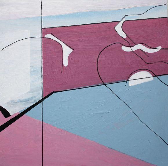 SEA FLIGHT  ' geometric abstract '