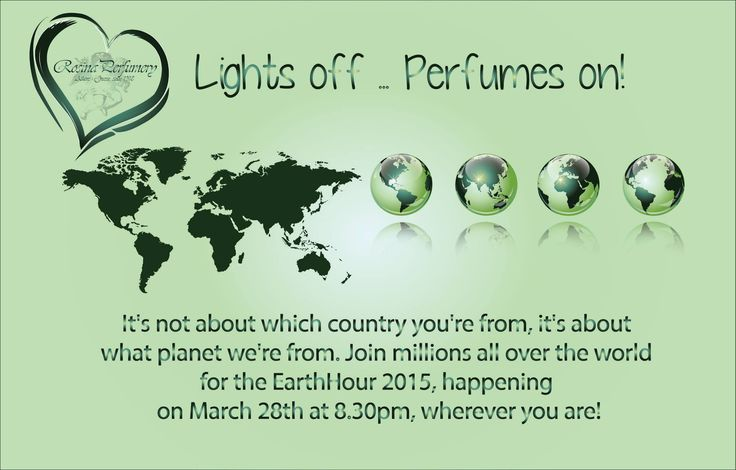 Rosina Perfumery supports Earth Hour between 8.30 pm & 9.30pm Saturday, 28th March Rosina Perfumery in Γλυφάδα, Αττική