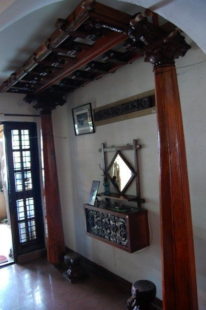 Creatively carved life creative collections of antique for Old indian house interior