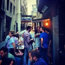 Don't have an iphone? No problem - click through to find all our gems like Shebeen - A laneway and a bar that supports non profit organisations with every beer you drink. Very Melbourne.