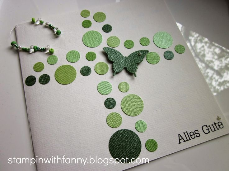 stampin with fanny: Taufe
