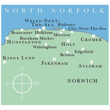 North Norfolk ..you can take the girl out of Norfolk, but you can't take Norfolk out of the girl!!!