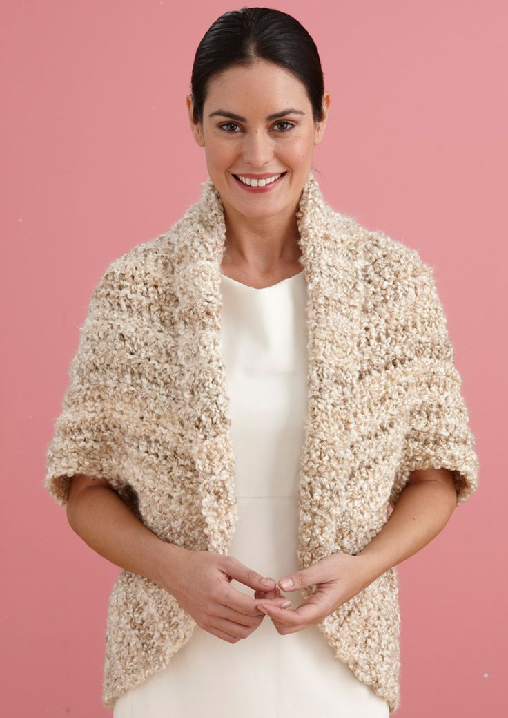 Easy+Crochet+Shrug+Pattern | Free Crochet Pattern L20507B ...
