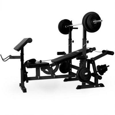 Banco de musculación gimnasio por 199,99 €  El banco de musculación Klarfit KS02 es el aparato de entrenamiento ideal para trabajar la #musculatura de brazos, piernas, barriga y espalda, en resumen, la totalidad de la musculatura #corporal, para obtener una excelente condición #física.   #fitness #musculos #pesas #chollos #ofertas