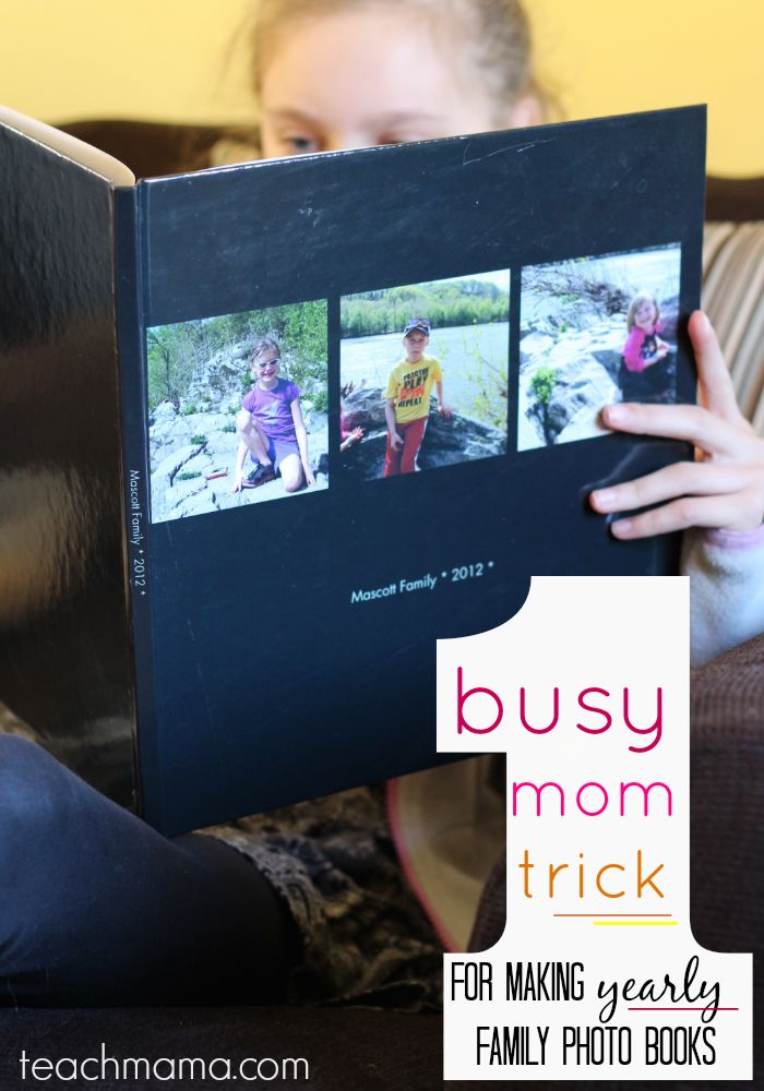 Family photo books easy quick and affordable for super busy moms