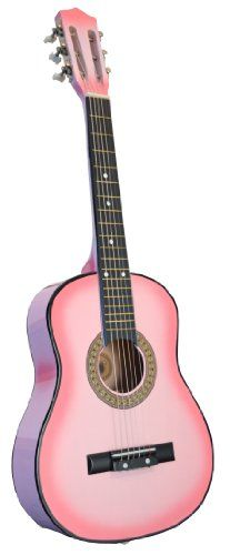 Directly Cheap 32 Inch Half Size Kids Acoustic Guitar, Pink - http://guitars.nationalsales.com/directly-cheap-32-inch-half-size-kids-acoustic-guitar-pink/