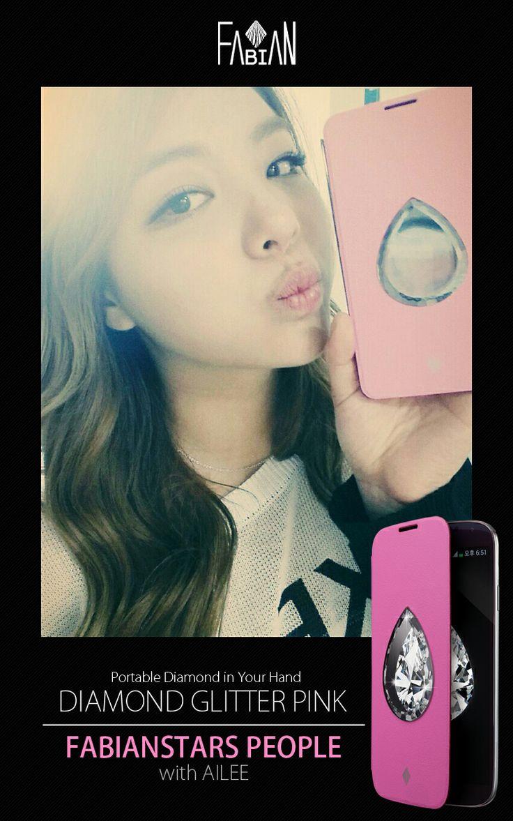 FABIANSTAR with STAR Ailee  Diamond Glitter Pink :)