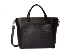 Tumi Sinclair Small Camila Tote (Black) Tote Handbags
