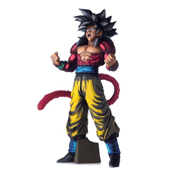 Dragon Ball Super Saiyan 4 Son Goku Manga Dimensions Version Figure Model Toys