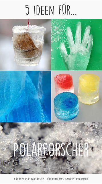 kleine Polarforscher, kitchen science, Balkongarten mit kids, Experimentieren, schaeresteipapier