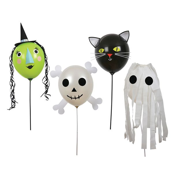 Halloween Character Balloons Kit