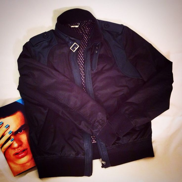 D&G black jacket, size 56