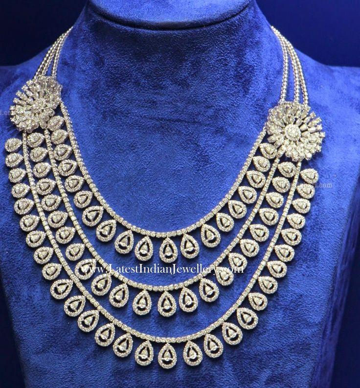 3 Step Bridal Diamond Jewellery