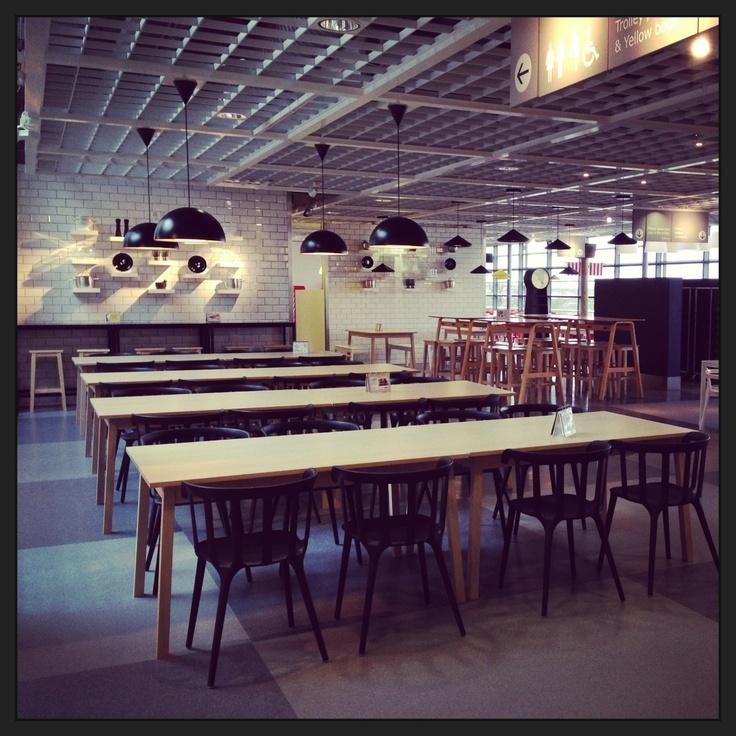 Ikea Restaurant Milton Keynes UK