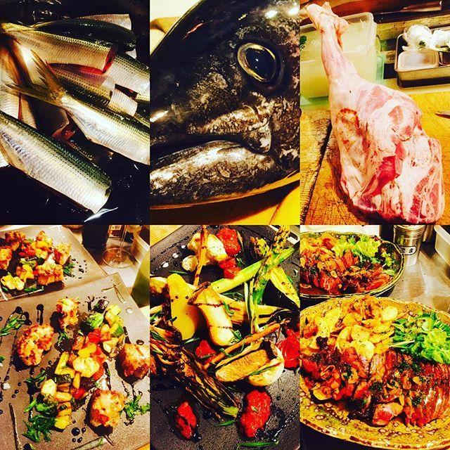 ブラッスリーピガール&六畳間❗️ 本日のラインナップ❗️ フレッシュコーンスープ❗️小肌ちゃん❗️ フランス産の仔羊モモ肉❗️生メジ鮪君❗️ 花ズッキーニ❗️その後野菜たっぷりで間もなくオープンでーす❗️^_^ #野菜料理 #フレンチ#横浜#鮪 #野毛#パスタ#肉 #刺身#ブラッスリーピガール#和食##刺身
