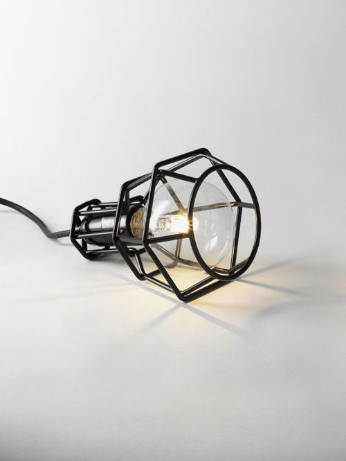 Design House Stockholm | Black Work Lamp