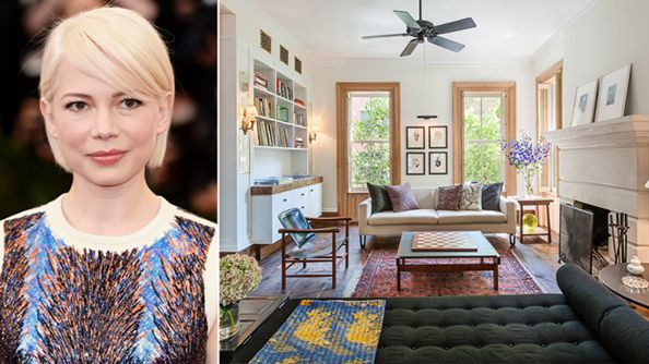 Michelle Williams's Brooklyn Townhouse Goes on Sale! See Inside the $7.5 Million Beauty  #InStyle