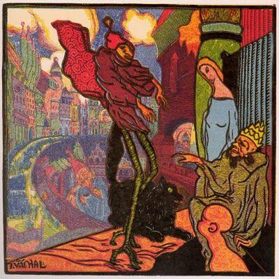 Josef Vachal (1884-1969) Czech Graphic Artist