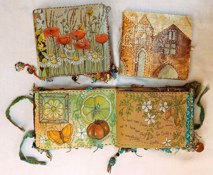 Best images about embroidered books on pinterest