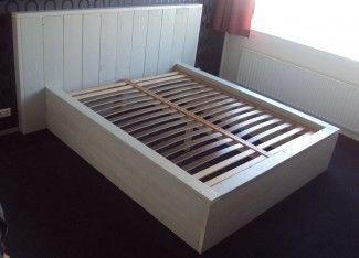 2-persoons-Bed-steigerhout