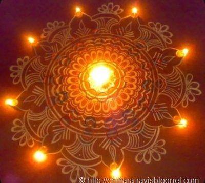 Diwali rangoli with chalk-powder…    http://www.eventsday.us