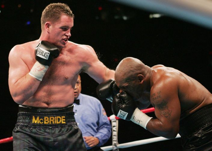 Kevin McBride is a former BBB of C Northern Ireland area/Irish Heavyweight champion who has also held the IBC Americas Heavyweight title. Perhaps his most famous claim is being part of Mike Tyson's last ever professional fight, leading the Co. Monaghan native to be referred to as the man who retired Iron Mike Tyson