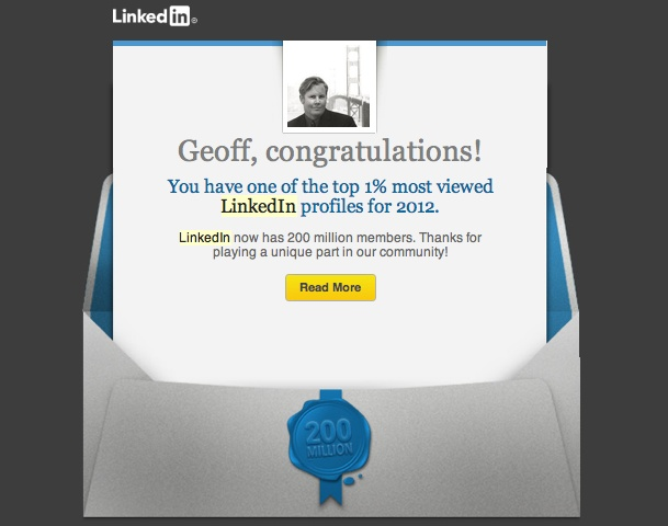 LinkedIn - Top 1% Influencer on LinkedIn worldwide #LinkedIn