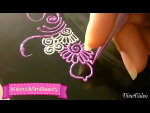Henna tray plate, thali mehndi..plateau - YouTube