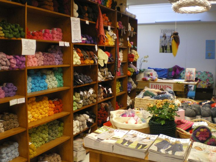 1000+ images about DROPS Stores on Pinterest | Welcome To, Norway and ...