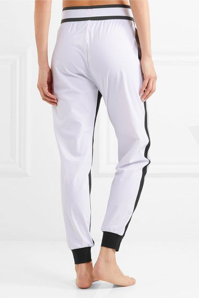 No Ka'Oi - Pana Color-block Stretch-shell Track Pants - Gray