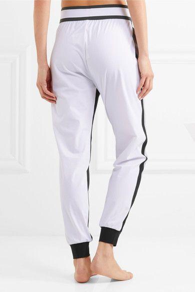 No Ka'Oi - Pana Color-block Stretch-shell Track Pants - Gray