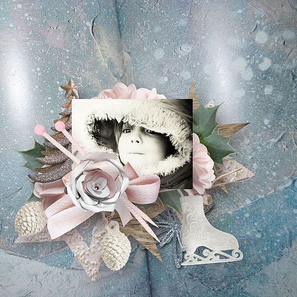 Winter's Freeze by butterflyDsign 1 $ each pack https://www.digitalscrapbookingstudio.com/collections/coordinated-collections/winters-freeze/?features_hash=13-8