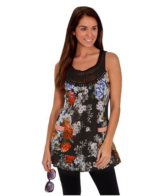 Printed Racerback Top - Houghton Bay - Winter by VIDA VIDA