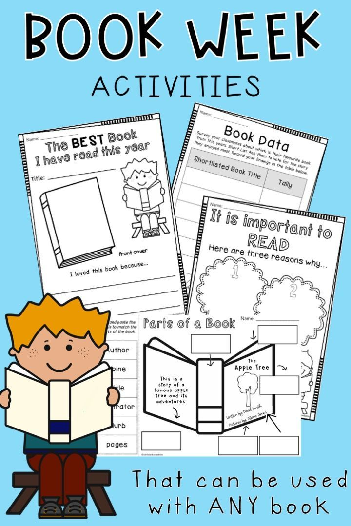 Use These Book Week Activities For Lower Primary Students To Support Any  Book Or Theme. Think Beyond Book W… Book Week, World Book Day Activities, Book  Activities