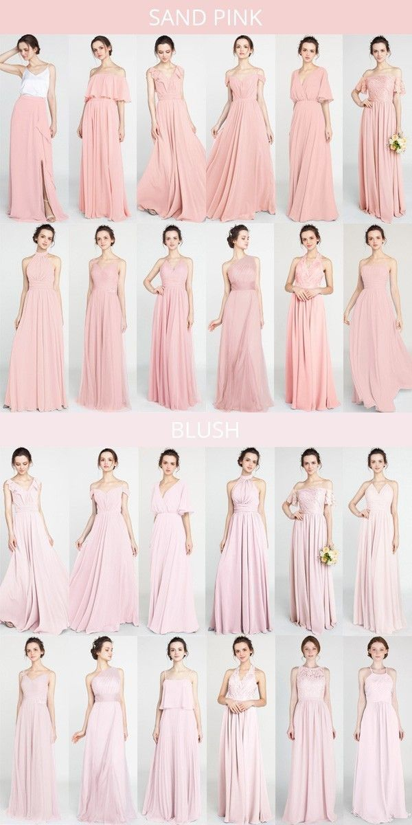 Lange Und Kurze Brautjungfernkleider 80 149 Grosse 2 30 Und 50 Farben Pakaian Wanita Wanita Dan Model Baju Wanita