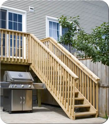 Postless Wood Railing| Fence-All